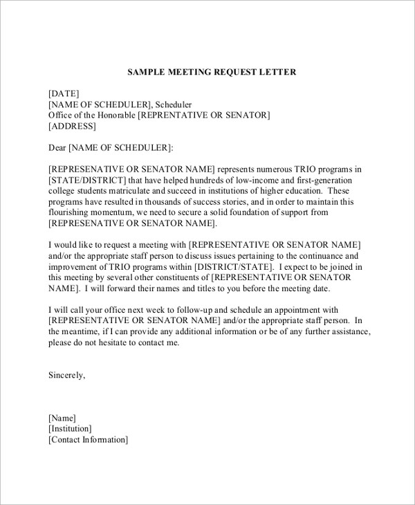 Template Letter Requesting Something Formal