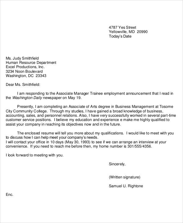 Offer Letter Format Consultant | Job Application Sample