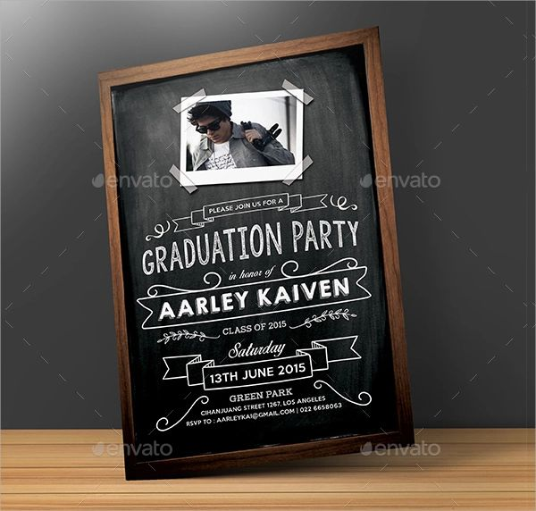 graduation invitation sample