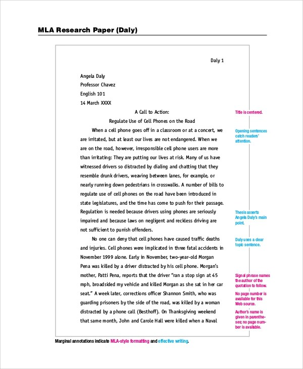 Sample Research Essays Mla Style Essay Example Co Best Photos Of