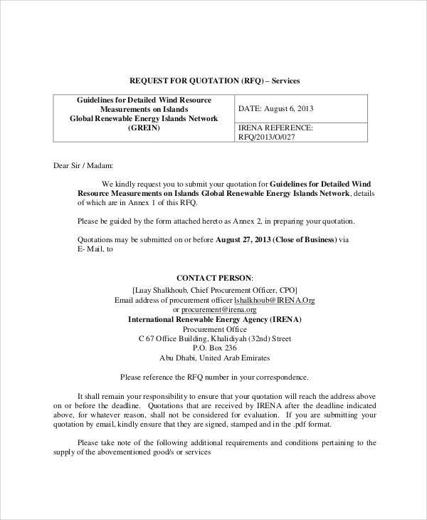 Sample Price Quotation - 6+ Documents In PDFinterior design