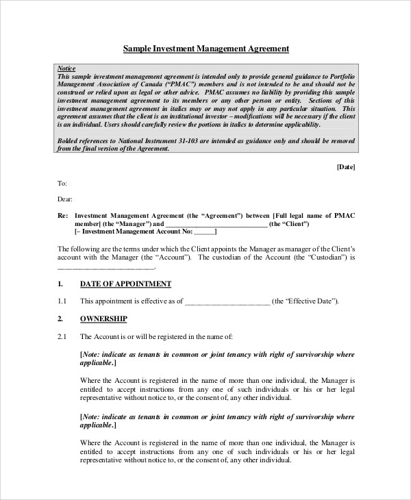 Sample Agreement  22 Examples in PDF Word Docs