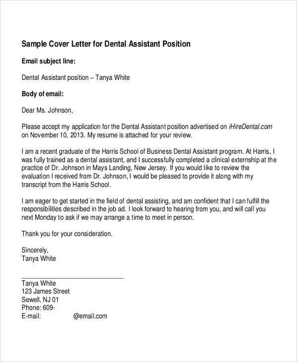 Cover Letter Example  7 Samples in Word PDF
