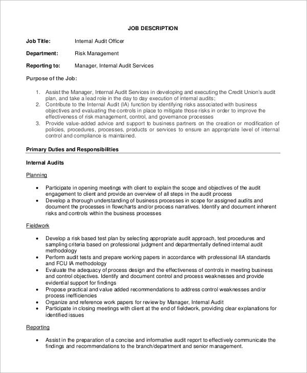Stylo Jobs Internal Auditor - Inspirational Interior style