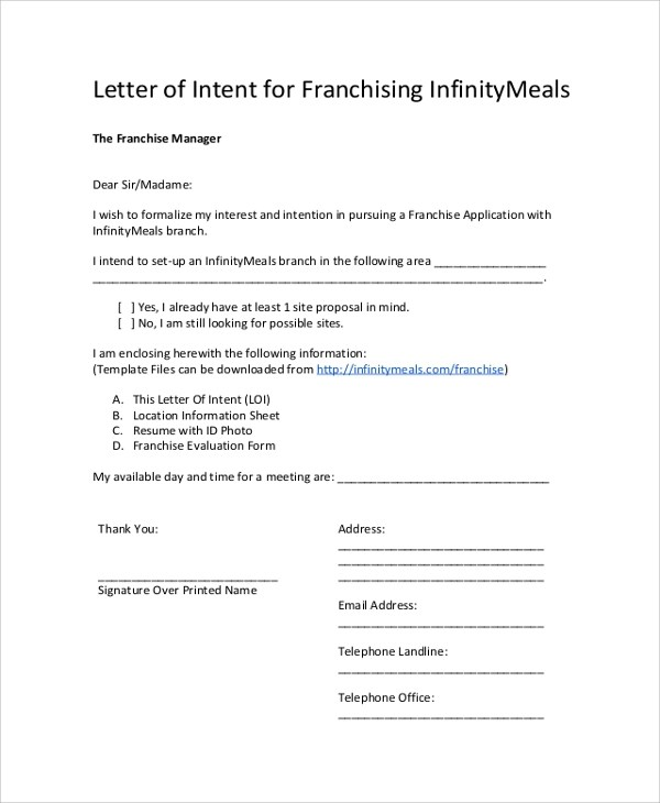 Letter Of Intent And Confidentiality Agreement Sample