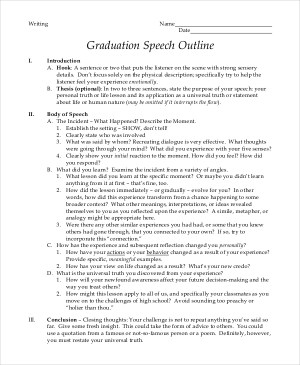 Graduation Speech Example examples of graduation speeches proposal speech example how to write