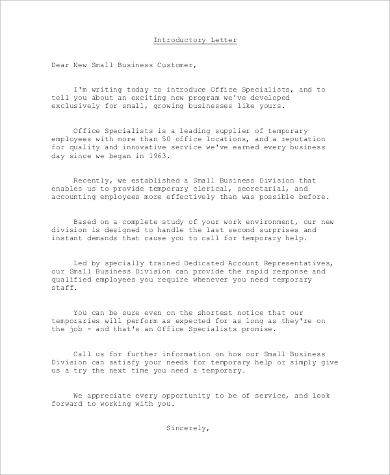 8+ Business Letter Samples – PDF, DOC | Sample Templates