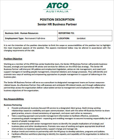 11 Sample HR Resumes  Sample Templates