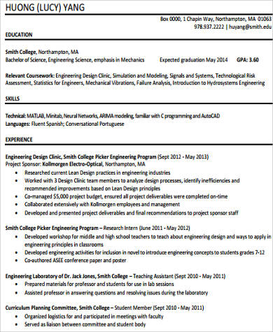 Sample Technical Skills Resume 10 Examples In Word PDF  Technical Skills For Resume