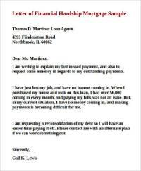 9+ Sample Financial Hardship Letters | Sample Templates