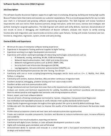 Cover Letter Sample Quality Control Engineer | Free Resume ...