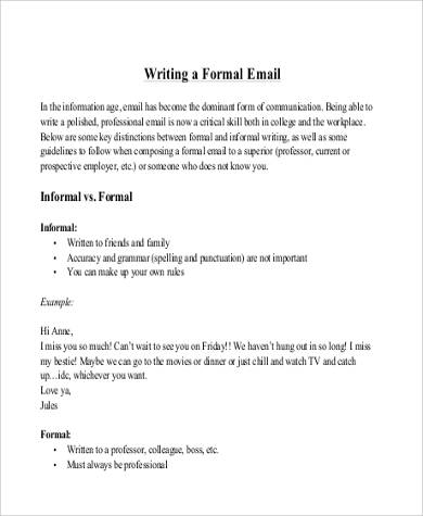 Sample Mail Letter Format 7 Examples In Word PDF