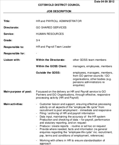 Hr Systems Administrator Cover Letter - Cover Letter Resume Ideas ...