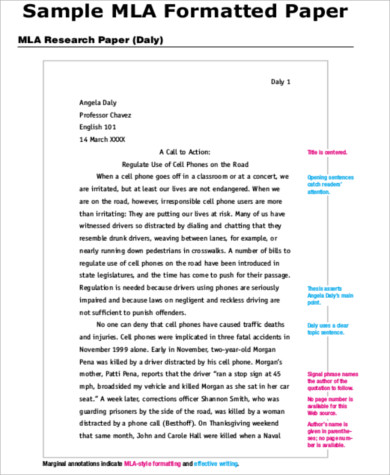 Mla Essay Cover Page Mla Cover Page Template Sample Essay Mla Format