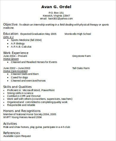 Physical Therapy Resume Unforgettable Physical Therapist Resume