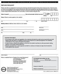 9+ Sample Refund Request Forms