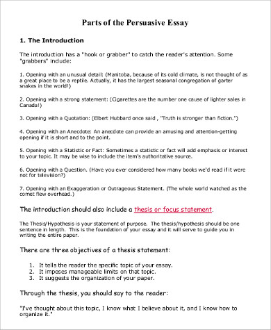 Anecdote Essay 100 Persuasive Essay Examples In Persuasive Speech