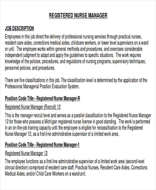 10 Sample RN Resume  Examples in Word PDF