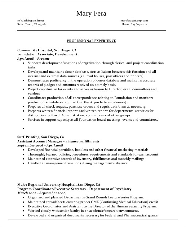 administrative assistant skills resume examples