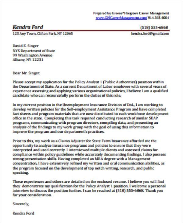 data analyst cover letter samples