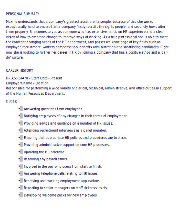 administrative assistant resume examples 2017