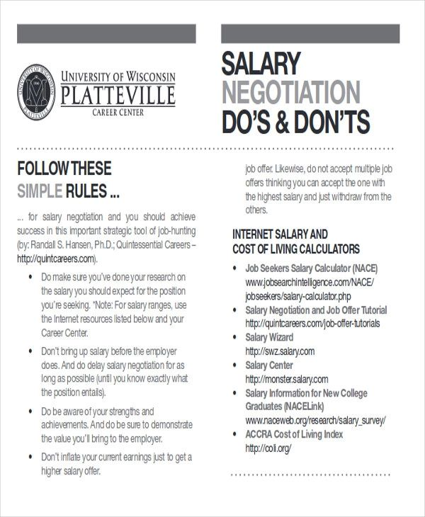 salary offer negotiation letter