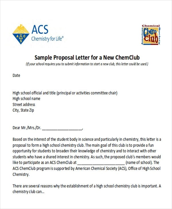 10 Sample Event Proposal Letters PDF Word