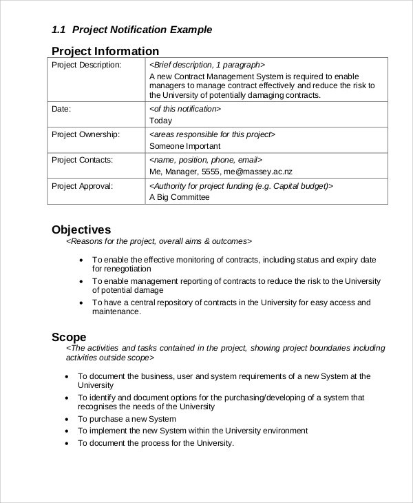 12+ Sample Project Management Reports | Sample Templates