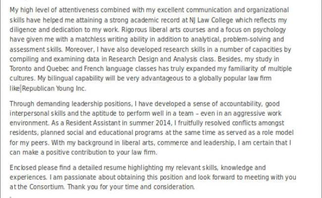 Legal Assistant Cover Letter Example Cute766