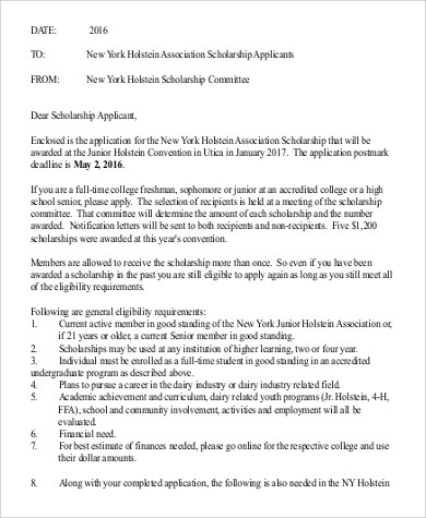 Free 45 Application Letter Templates In Pdf Ms Word
