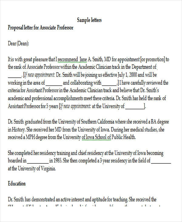 8 Sample Physician Recommendation Letters DOC PDF