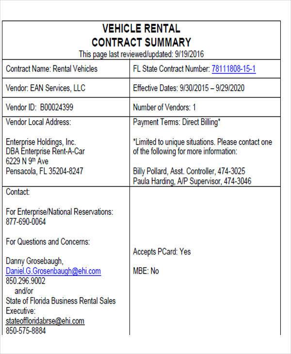 vehicle invoice format