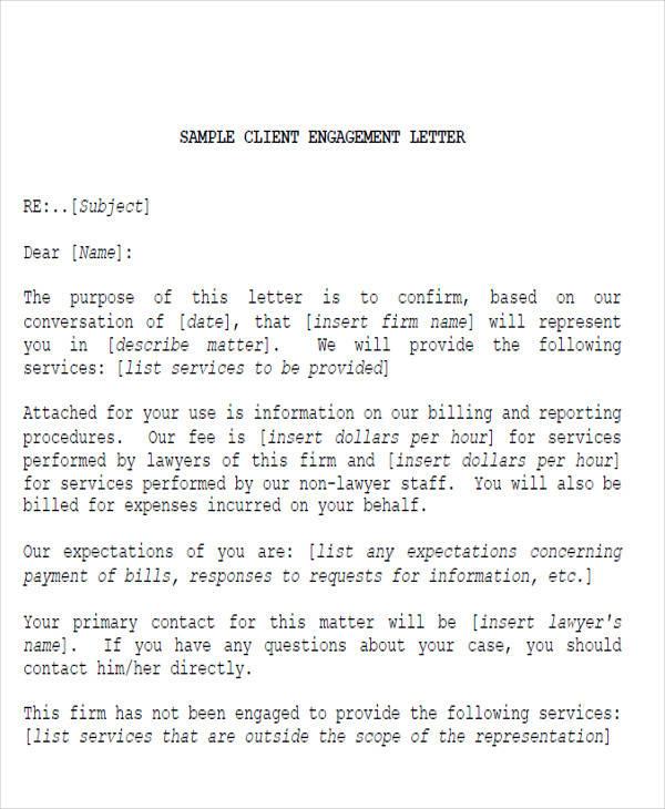 38 Service Letter Formats