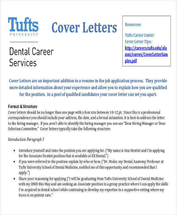 Sample Letters Of Recommendation Dental