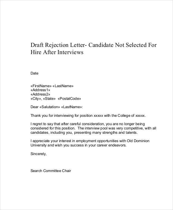 50 Sample Employment Letters Sample Templates