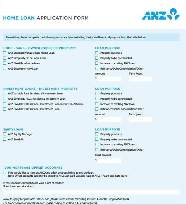 personal loan templates