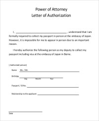58+ Authorization Letter Samples  PDF, DOC | Sample Templates