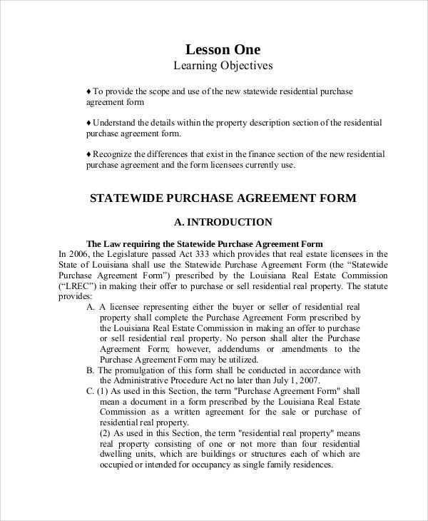 58+ Printable Agreement Samples | Sample Templates