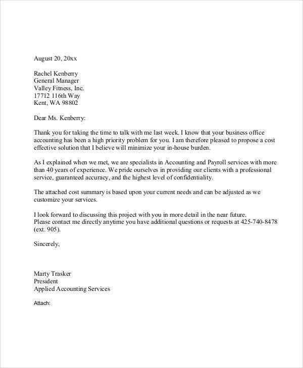 37 Sample Business Letters In PDF Sample Templates