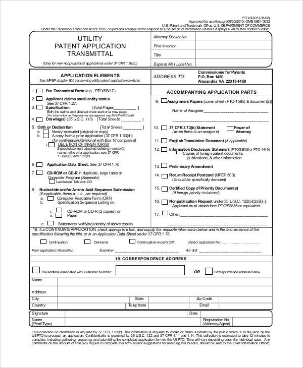79+ Free Application Forms | Sample Templates
