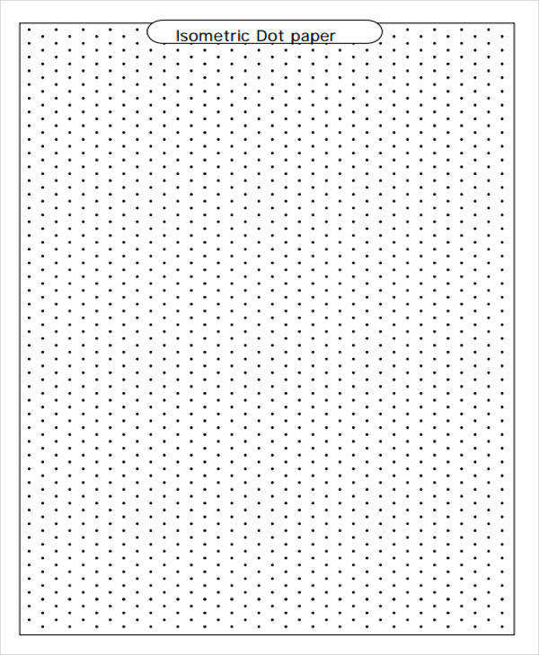 28 Free Isometric Papers