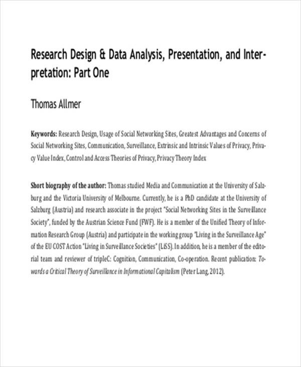 33 Research Papers In PDF Sample Templates