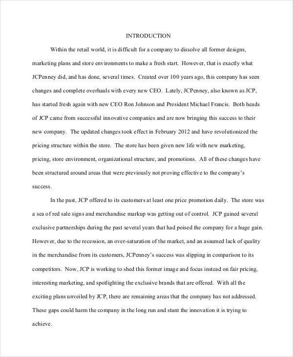 32 Research Paper Examples Sample Templates
