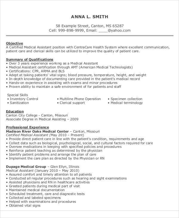 9 Sample Resume Objective Statement – PDF DOC Sample