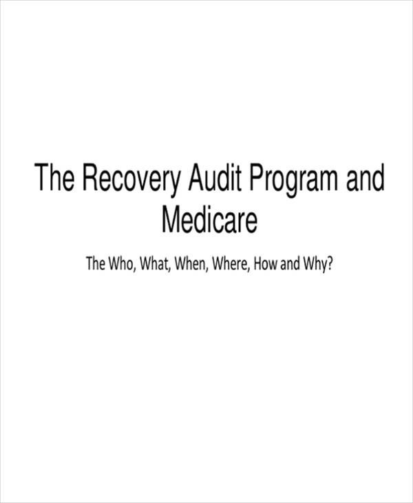 Free 6 Audit Program Samples Amp Templates In