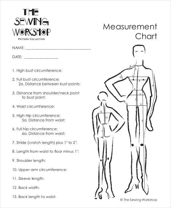 9+ Measurement Chart