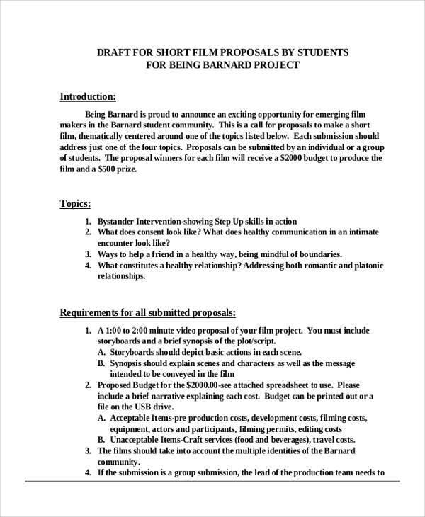 31 Business Proposal Formats Sample Templates