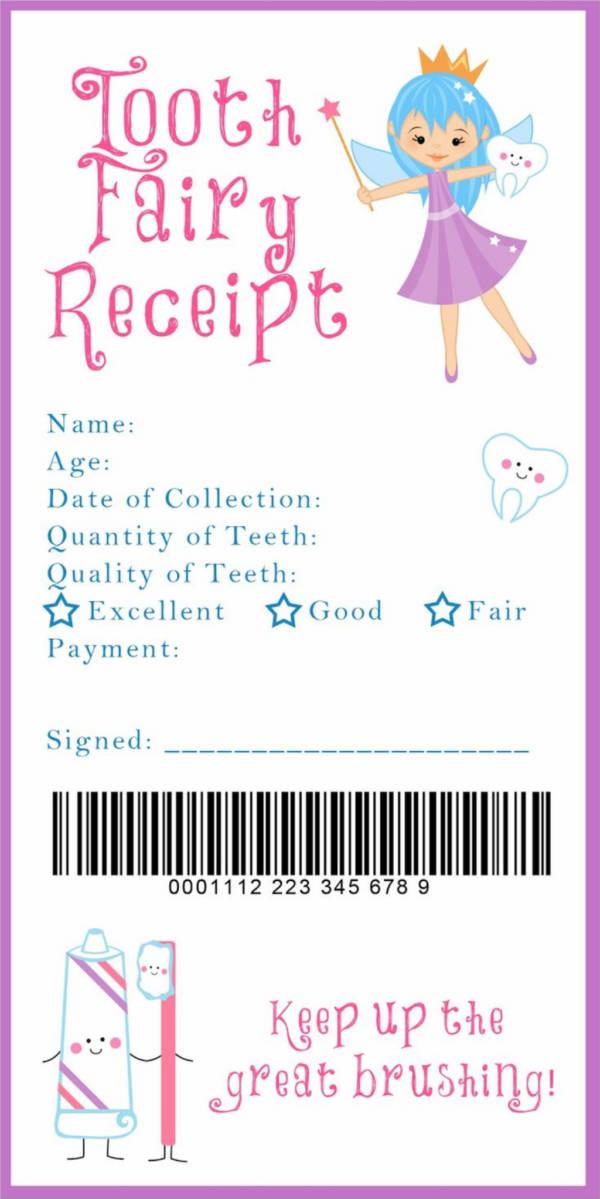 receipts free templates