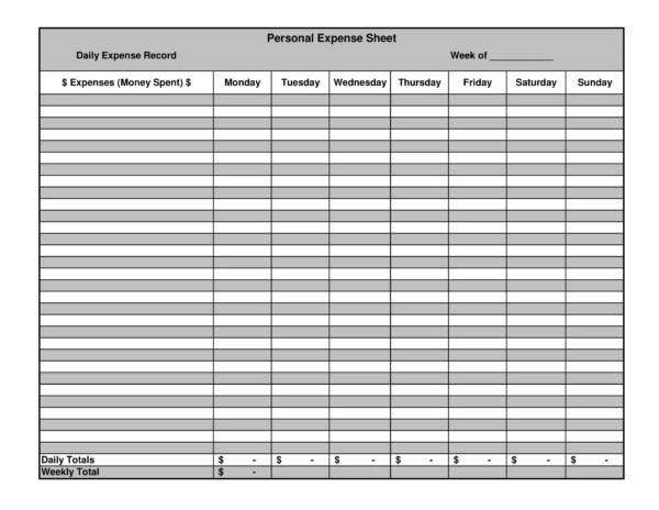 03/11/2020· a business expense spreadsheet is a comprehensive report created on a regular basis. Free 15 Expenses Spreadsheet Templates In Pdf Excel