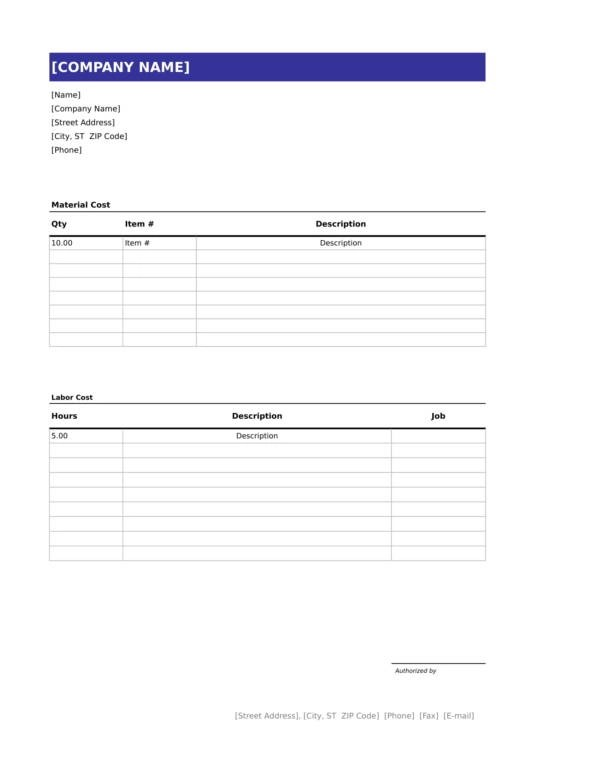 What is a handyman invoice? Free 11 Handyman Invoice Templates In Pdf Ms Word Excel